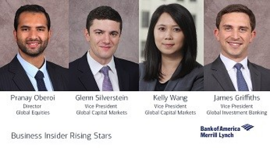 Four BAML professionals named to Business Insider's Rising Stars on Wall Street age 35 and under, image